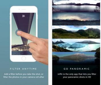 filtre infinitite infltr aplicatie iphone