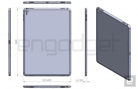 iPad Air 3 schita iPad Pro