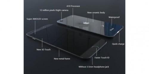 iPhone 7 carcasa ceramica