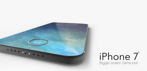 iPhone 7 concept bun