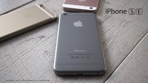 iPhone SE concept versiuni 16 - iDevice.ro