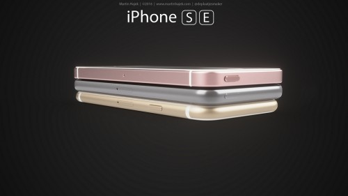 iPhone SE concept versiuni 5 - iDevice.ro