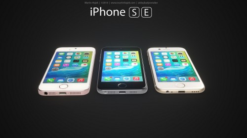 iPhone SE concept versiuni 8 - iDevice.ro