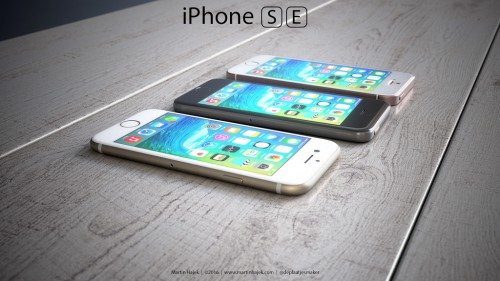 iPhone SE concept versiuni 9 - iDevice.ro