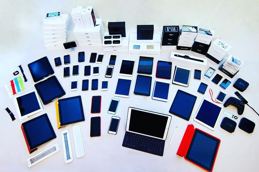 iPhone, iPad, iPod Touch, Apple TV, Apple Watch
