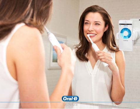 oral b periuta controlata iphone