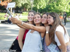 snastick carcasa selfie stick iphone
