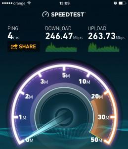 viteza WiFi iPhone si iPad