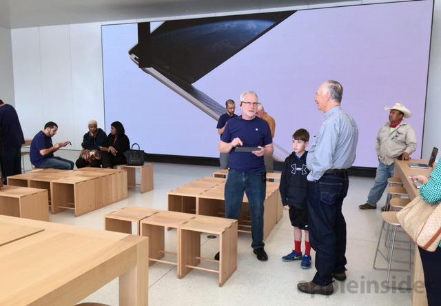 Apple Store noua generatie 5