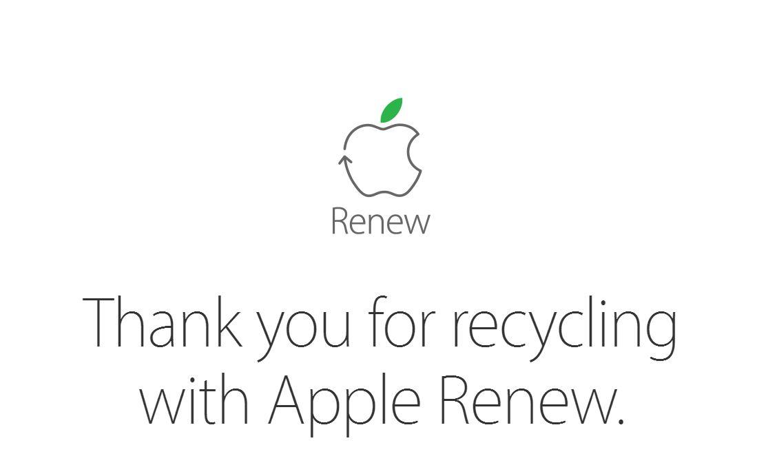 Apple wallpaper reciclare