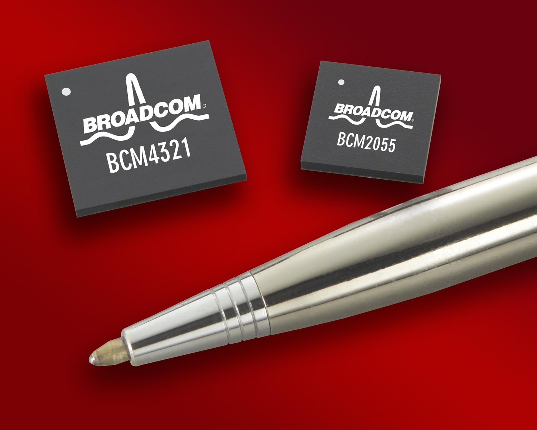 Broadcom chip Wi-Fi