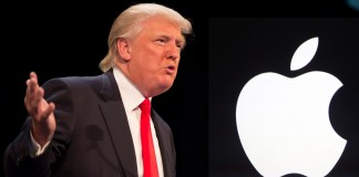 DOnald Trump critica Apple iPhone