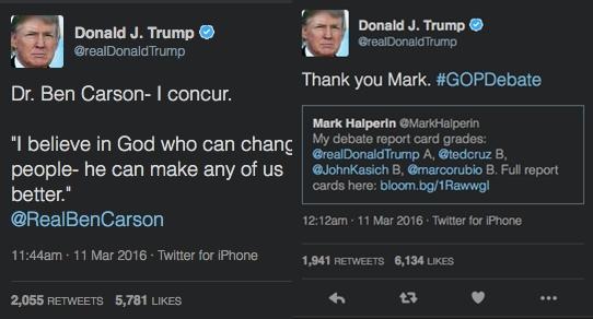 Donald Trump iPhone