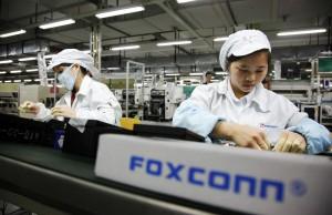 Foxconn dependenta Apple