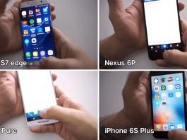 Galaxy S7 edge, iPhone 6s Plus, Nexus 6P, Moto X Pure