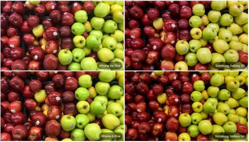 Galaxy S7 vs S6 vs iPhone 6S Plus vs 6 Plus vs 5S