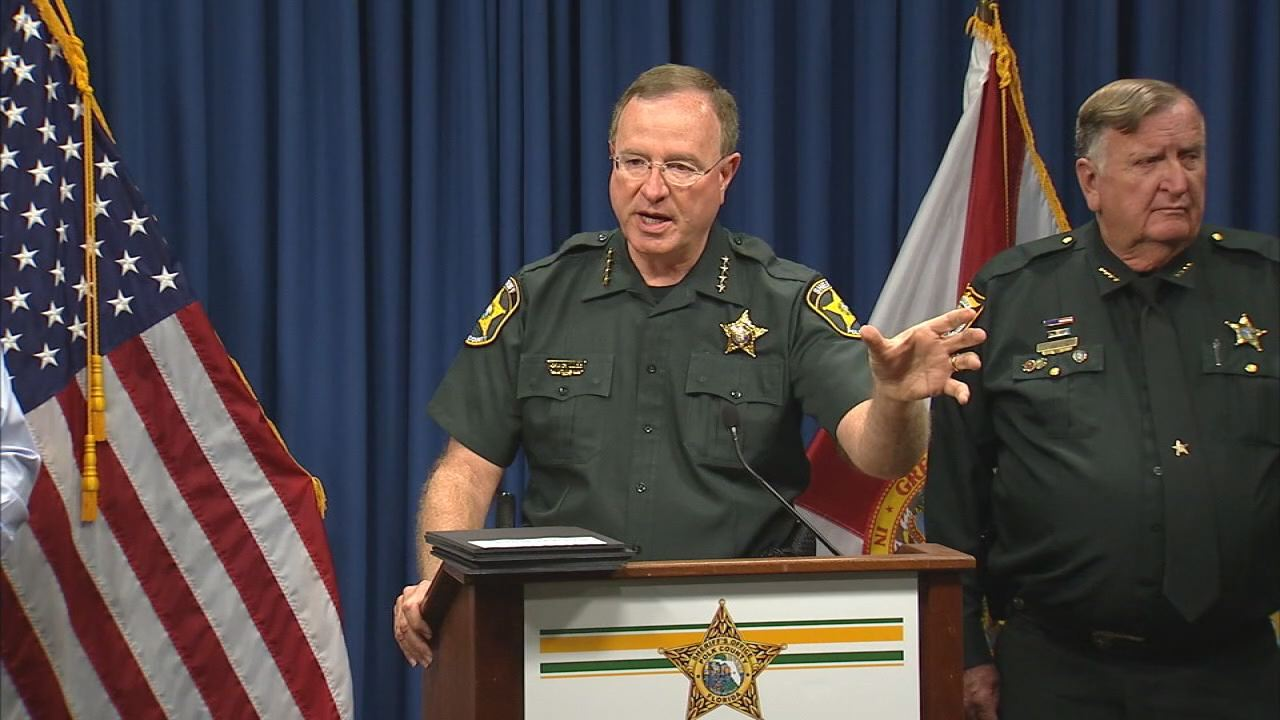 Grady Judd serif Polk