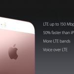LTE WiFi iphone SE