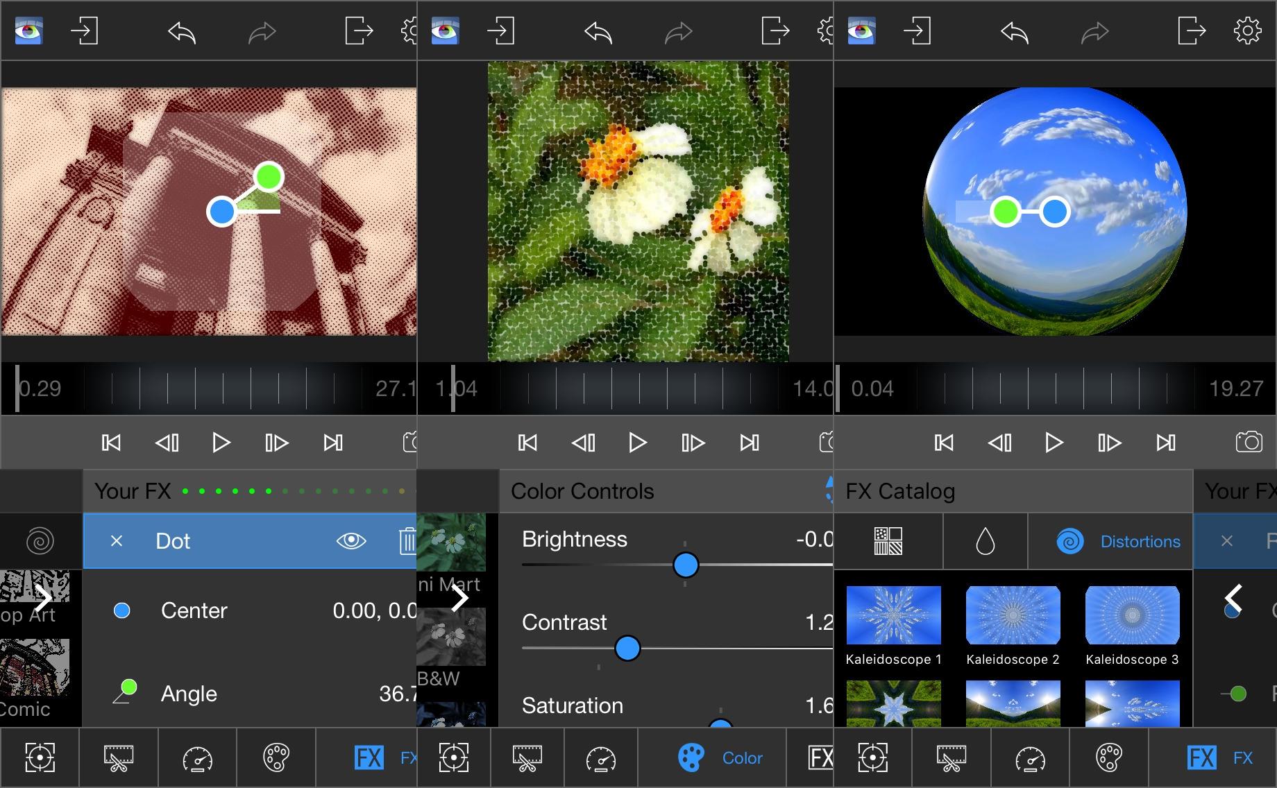 LumaFX filtre video