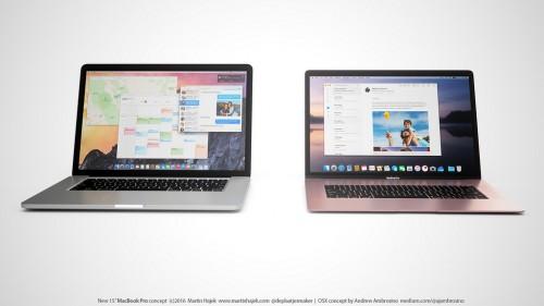 MacBook Pro 15 inch concept