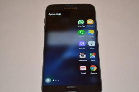 Samsung Galaxy S7 Edge review ecran