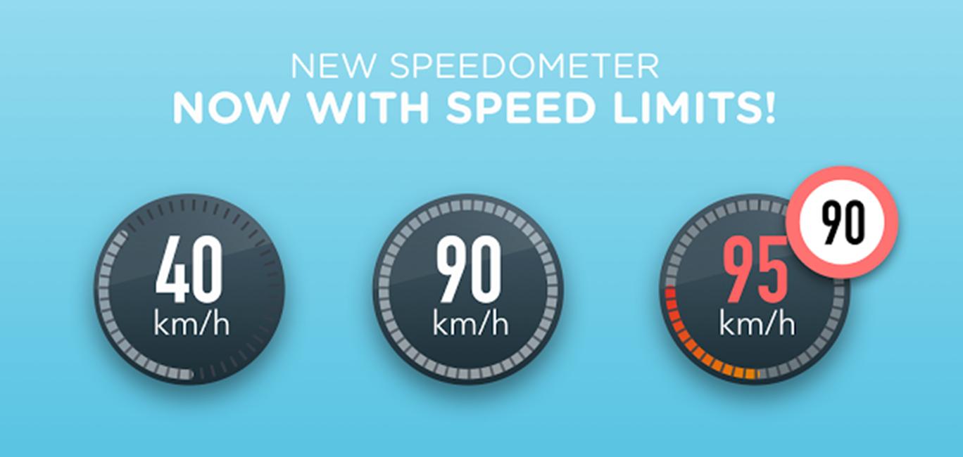 Waze limita viteza