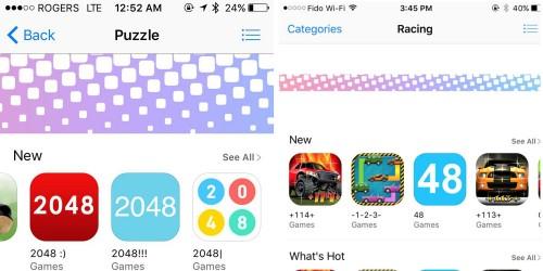 bug App Store aplicatii