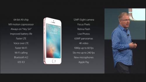 caracteristici noi iPhone SE