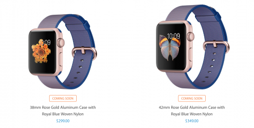 curele noi Apple Watch 1