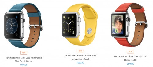 curele noi Apple Watch