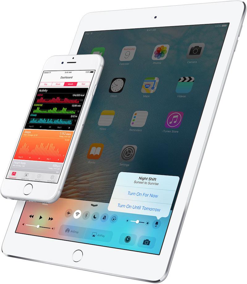 iOS 9.3 Night Shift - iDevice.ro
