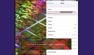 iOS 9.3 angajator monitorizare - iDevice.ro