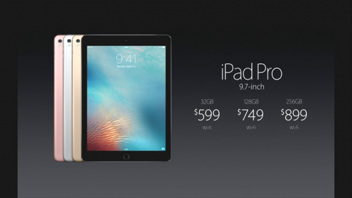 iPad Pro 9.7 inch preturi lansare 256 GB