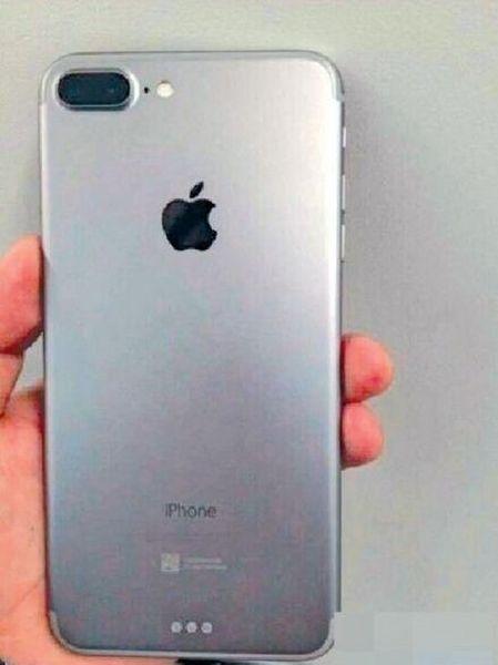 iPhone 7 Plus camera dubla imagine reala