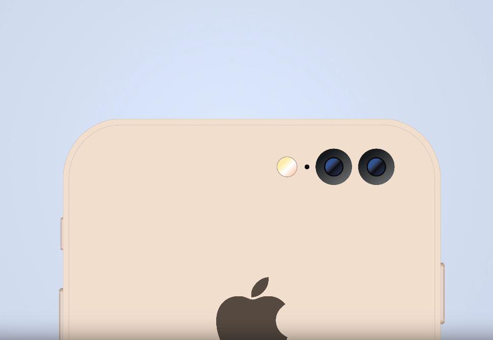 iPhone 7 Plus camera dubla imagini