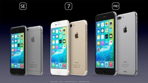 iPhone SE 7 Pro concept