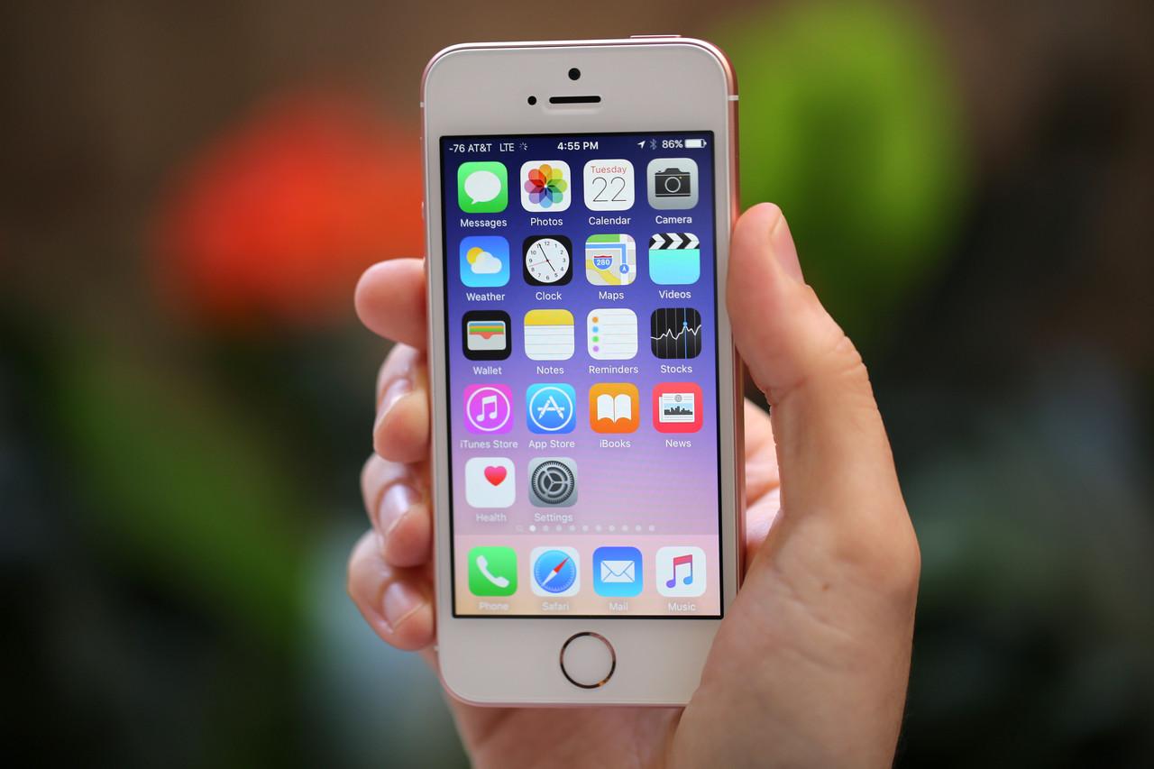 iPhone SE autonomie baterie