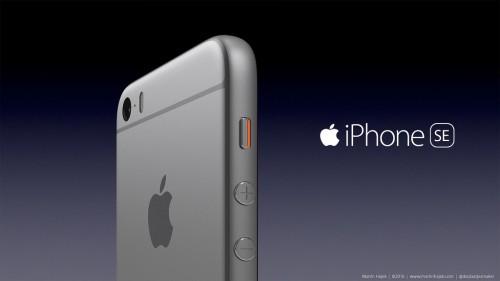 iPhone se concept martie 2