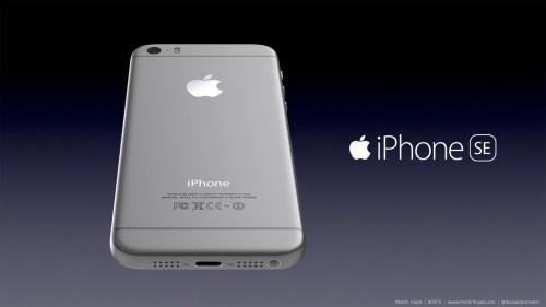 iPhone se concept martie