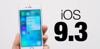 lansare iOS 9.3 - iDevice.ro