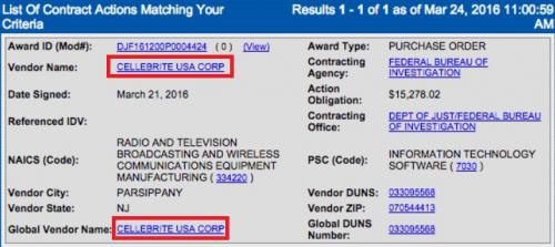 pret deblocare iPhone FBI