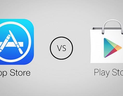 App Store vs Google Play vanzari