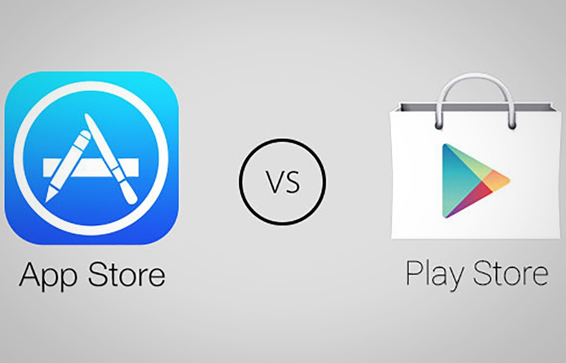 App Store vs Google Play vanzari