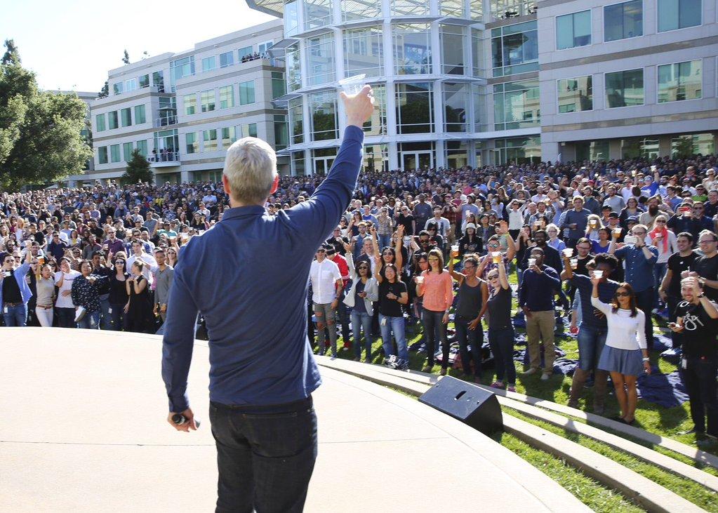 Apple 40 ani Cupertino