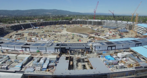 Apple Campus 2 comparativ