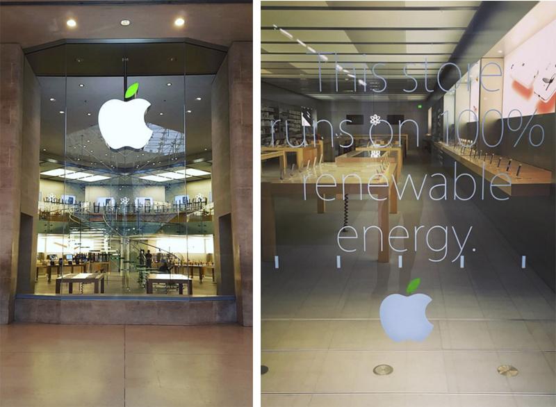 Apple Store Zi Pamant energie regenerabila