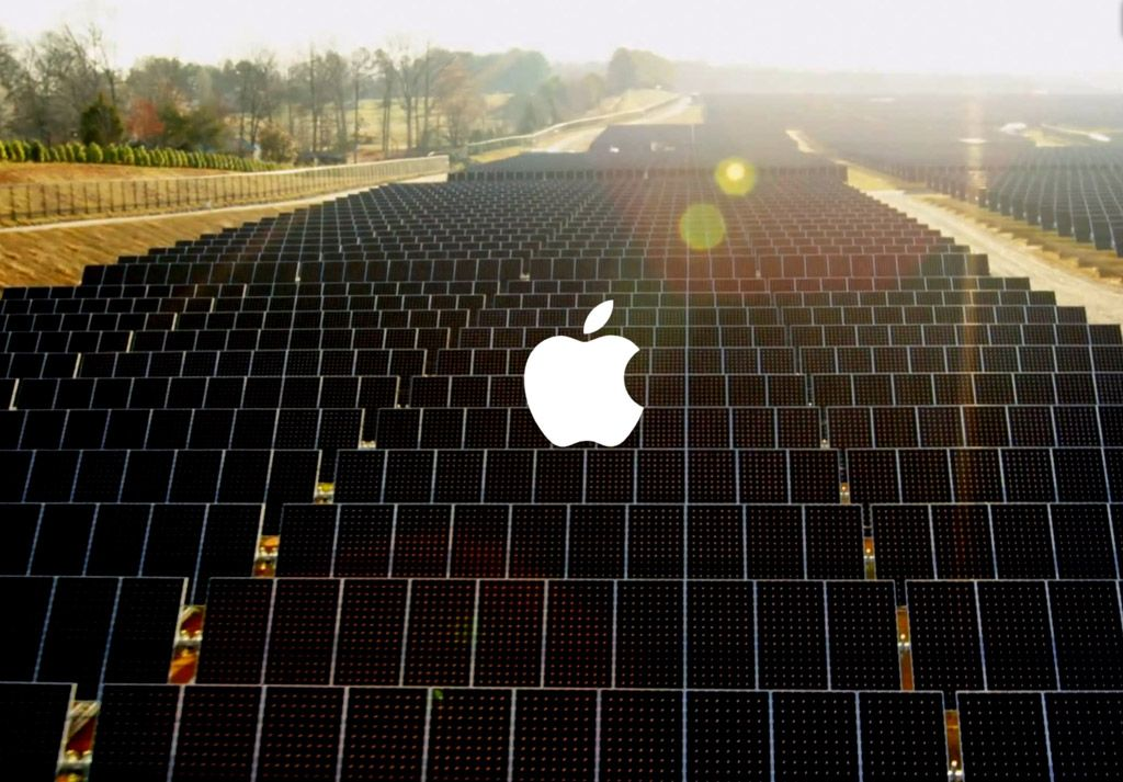 Apple energie regenerabila