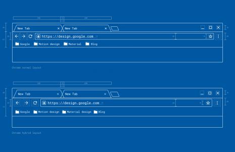 Google Chrome design nou 2