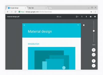 Google Chrome design nou 4