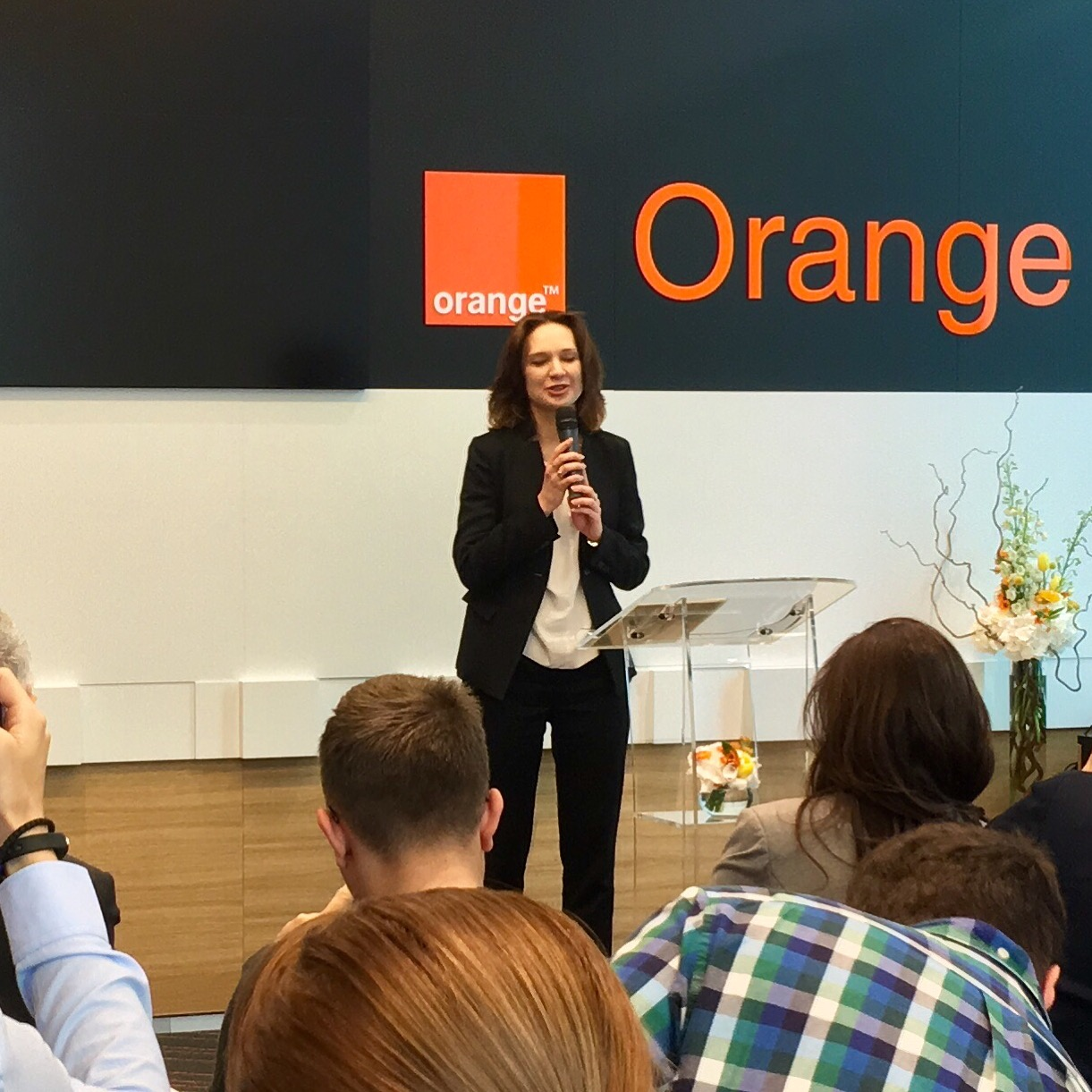 Liudmila Climoc CEO Orange